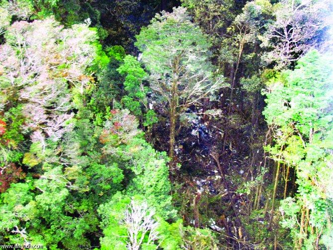 سوء الأحوال الجوية يمنع وصول   فرق الإنقاذ إلى الطائرة الإندونيسية المنكوبة
