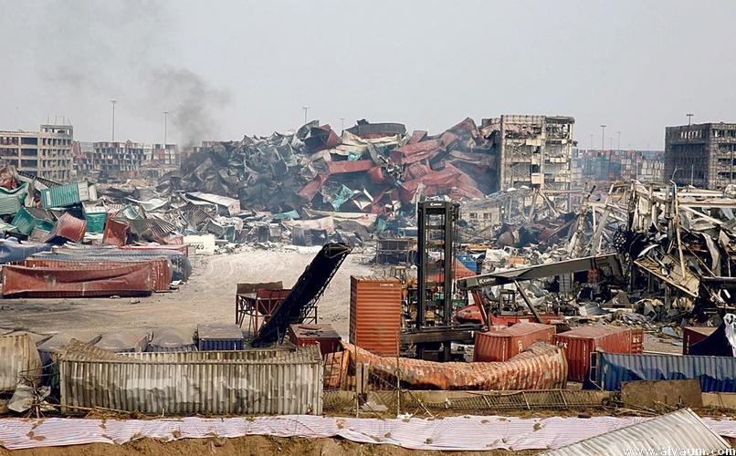 الصين: 114 قتيلًا في انفجار تيانجين