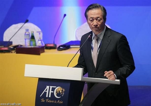 الكوري الجنوبي تشونج يعلن ترشحه لرئاسة الفيفا