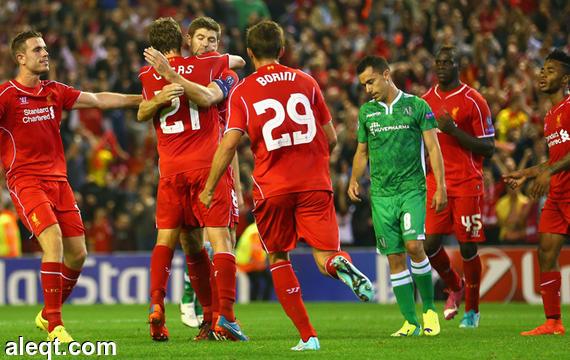 الدوري الإنجليزي الجولة الثانية : ليفربول يفوز على بورنموث