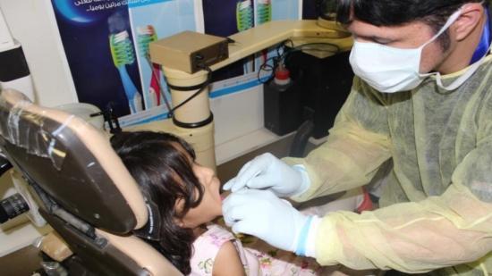 عيادة أسنان متنقلة لزوار منتزه الردف بالطائف