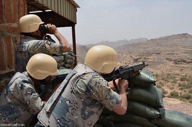 استشهاد الرقيبين علي غزواني وسروي آل سعيد من منسوبي القوات البرية